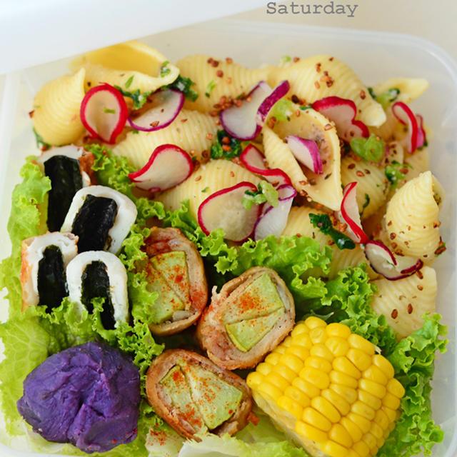 10月24日 土曜日 海苔チーズのちくわボード&梅明太ラディッシュのコンキリエ