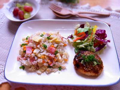 筍とベーコンのピラフ(筍ご飯リメイク) & 最近の晩ご飯は・・