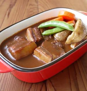 豚バラ肉のブラウンシチュー