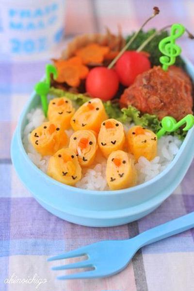 【連載】レシピブログ「ヒヨコいっぱいのお弁当」