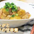 新じゃがと豚バラ肉の甘辛煮の作り方!ご飯によく合うおかずレシピ♪