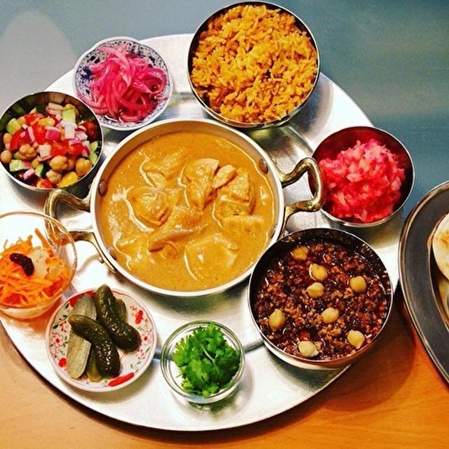 成城石井で見つけた国立薬膳カレールーや、GARAKUのドライカレーの素、ビリヤニの素でインドな夜