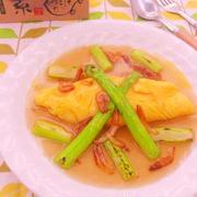 ごはんにも合う!和食材のオムレツレシピ