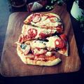 思い付いたらすぐ出来る♡オーブンなしのこんがり自家製ピザ♪