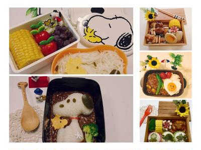 今週のお弁当のまとめ 5選(8/7~11)