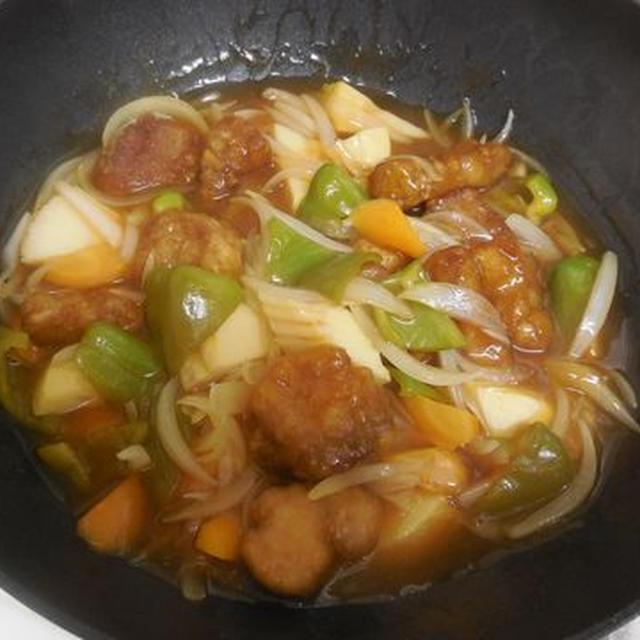 酢豚の豚肉は手間を惜しまないで揚げるのが一番美味しい!