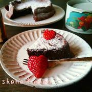 ふわしゅわ新食感~♪今年の本命濃厚チョコケーキ♪