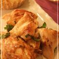 鶏胸肉の梅マヨ和え