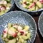 胡瓜とタコの和え物