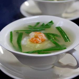 アジアンなクミン風味のスープごはん