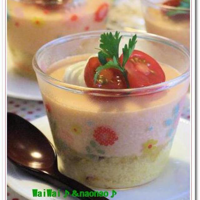 あったらいいな♥ トマトのSOYチーズケーキ・・・模索中♪♪