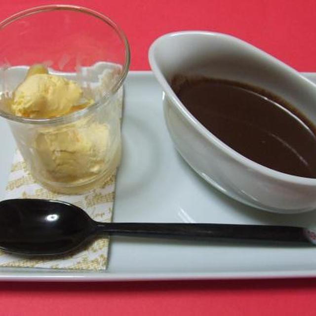 チョコラータ・カルダ風♪冷や熱スイーツ