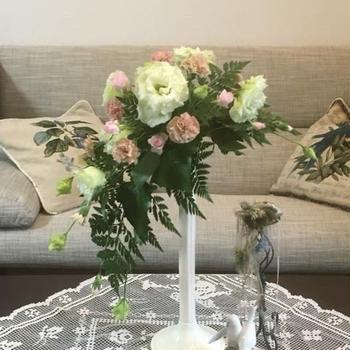 今月のアレンジメント(@5月 逆クレッセントの bouquet )