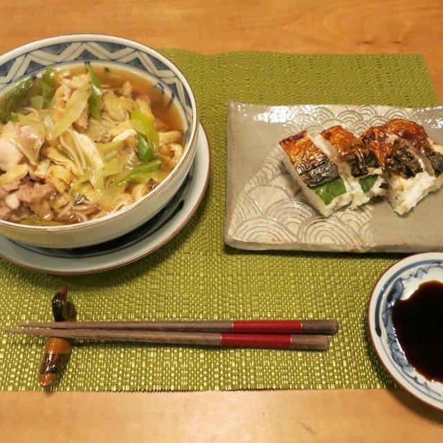 鶏南蛮そばの夜ご飯 と 『胃カメラ克服記念日』♪