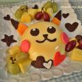 キャラデコ♪ピカチュウ☆カボチャのババロアケーキ by strawberry-macaronさん