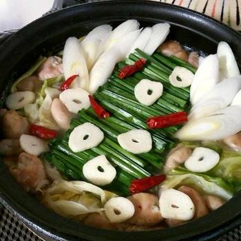 「よろこばレシピ」にレシピ投稿しました★スープもゴクゴク☆簡単もつ鍋♪うま塩味♪