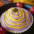 かぼちゃ&紫いものハロウィンタルト by Aya♪さん