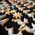 クリスマスのオーナメントクッキー