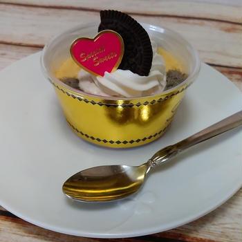 クッキークリームのケーキ!