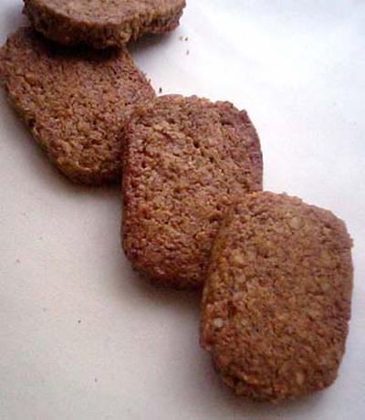 フープロで。素朴系シナモン胡桃のミルクコーヒークッキー