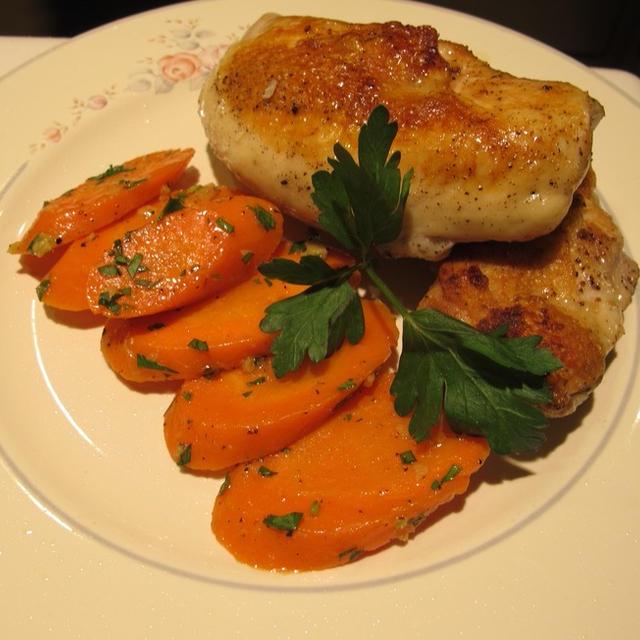 スーヴィード(Sous Vide)を使った娘夫婦の鶏と卵料理