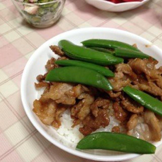 夕飯 〜豚丼編〜