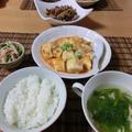 麻婆豆腐のご飯