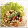 玄米と豆のライスサラダ