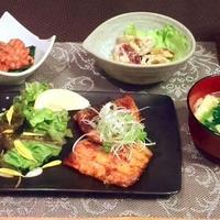 秋刀魚のうまソース蒲焼き