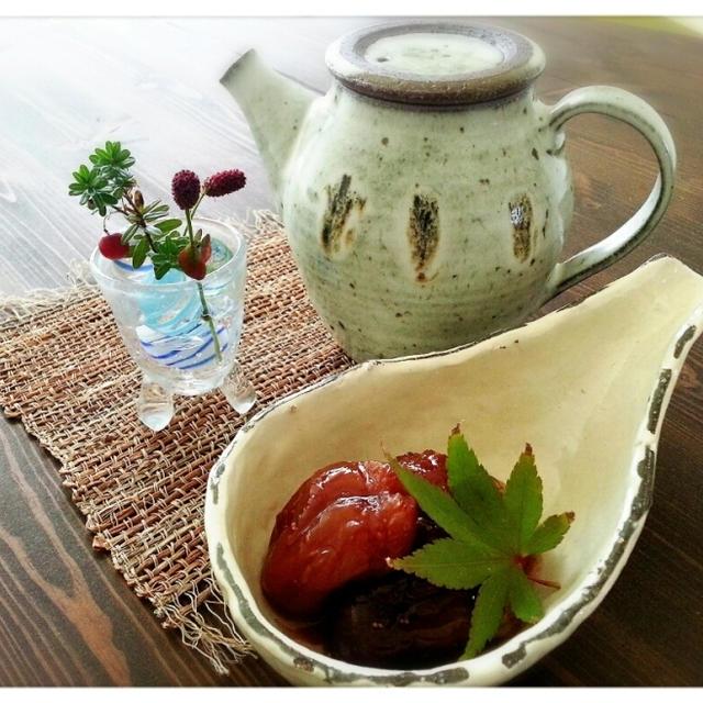 無花果み~つけた♡秋の味覚第一弾♪いちじくのコンポートでぼっちカフェ(*´з`)