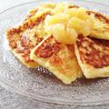 冷たいフレンチトースト&パイナップル