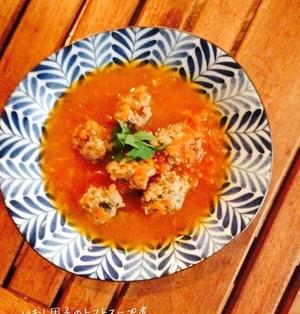 いわし団子のトマトスープ仕立て