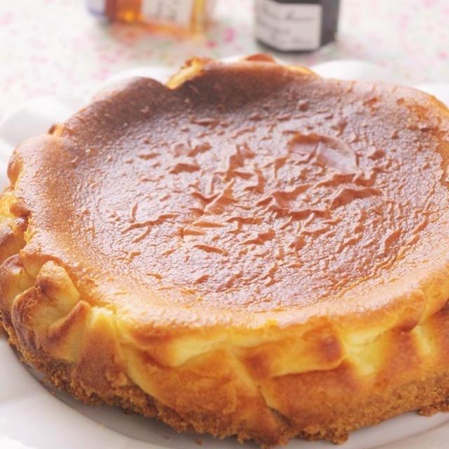 素朴なチーズケーキ