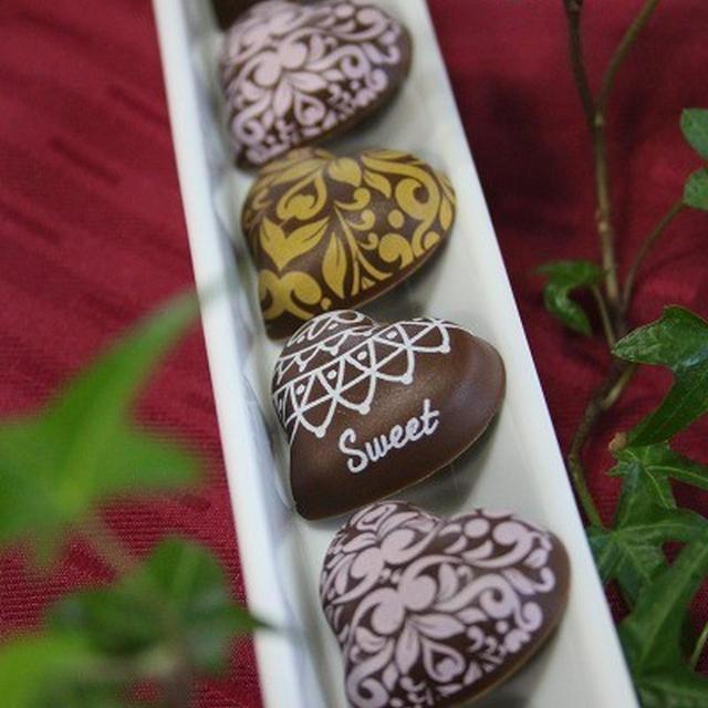 ◆バレンタインのチョコ遊び~ゆるやか糖質制限中♪
