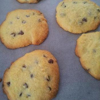 15分でチョコチップクッキー☆