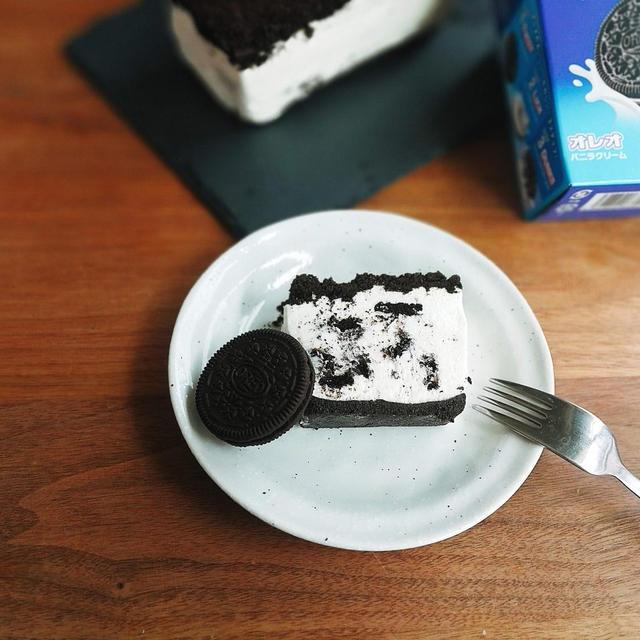 オレオ1箱まるごと!パウンド型でオレオチーズケーキのレシピ