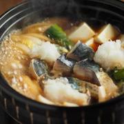 鯖の沖すき鍋 、 鯖のすき焼き風