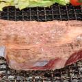 牛ロースブロック(600グラム)の炭火焼