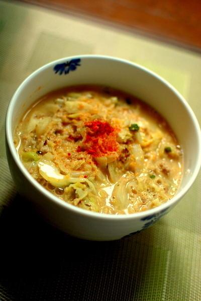 簡単☆坦々麺