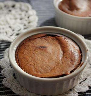トースターで簡単♪ベイクドチョコチーズケーキ