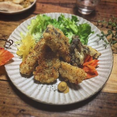 メインにも☆白身魚のパルメザンパン粉フライ