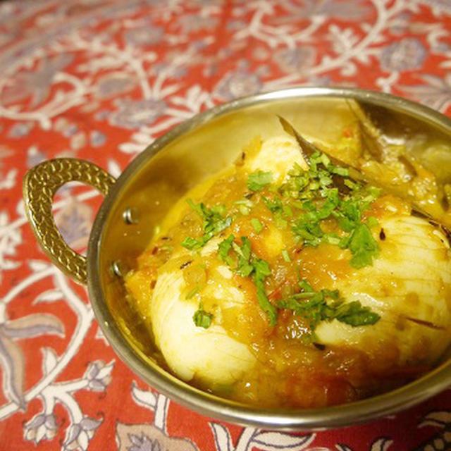 【レシピ】インドの卵カレー《エッグマサラ》