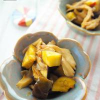 【レシピ】茄子と舞茸のユッケ風レンジ蒸し