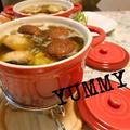 ☆牡蠣とマッシュルームのオイルフォンデュだょ♪(σ・∀・)σ☆