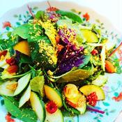 ナッツのグリーンサラダ