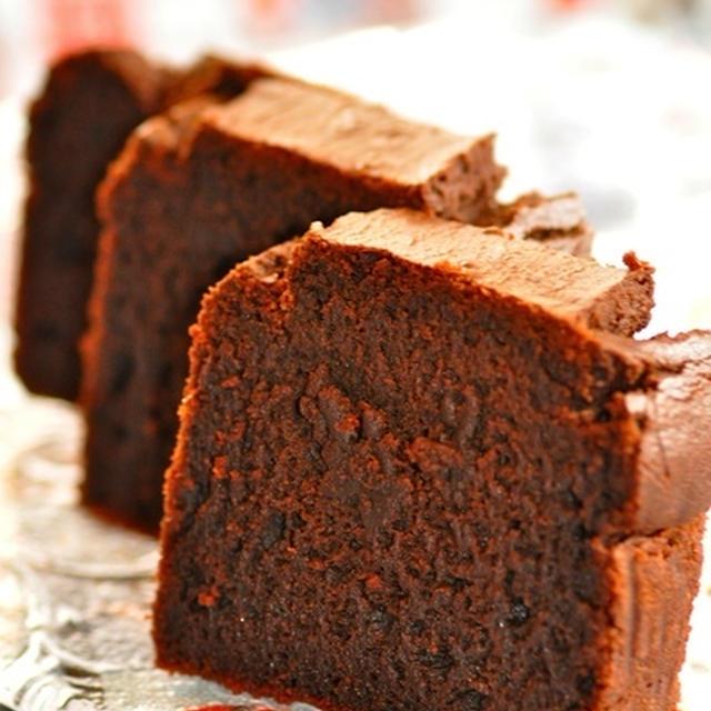 もち粉のチョコレートケーキ