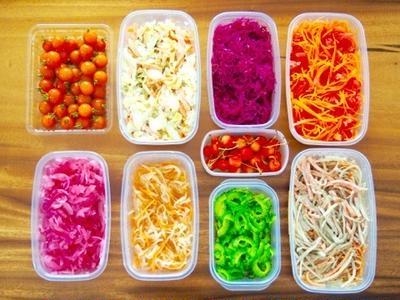 今週の冷蔵庫事情。常備菜。