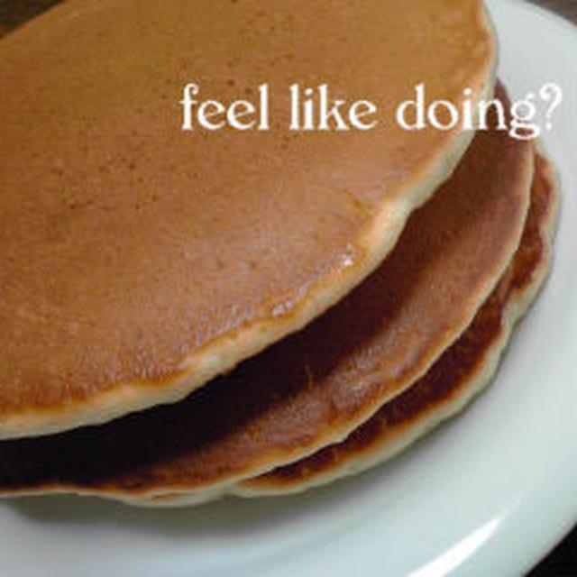 きつね色♪ な,ふんわりパンケーキ