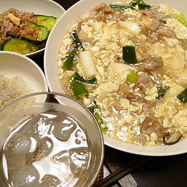 「中華風肉豆腐」