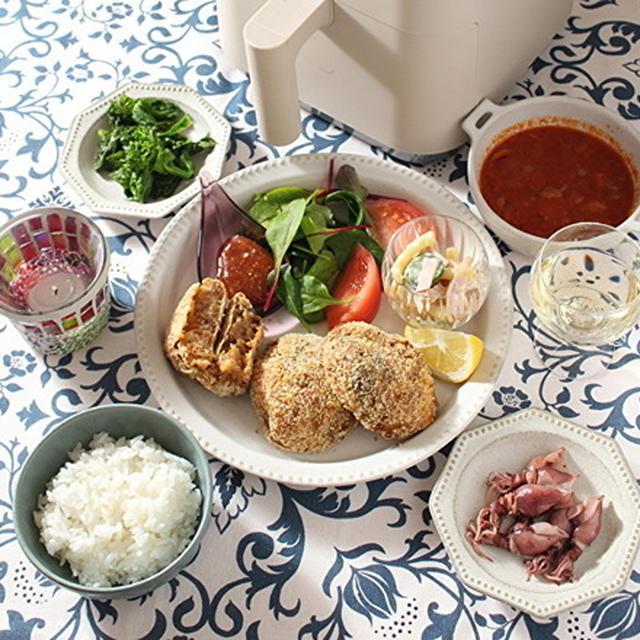 「エアーオーブンですき焼きコロッケ」「サーモンとアボカドのちらし寿司と和食の日」